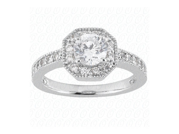 Engagement Ring by Unique Settings
